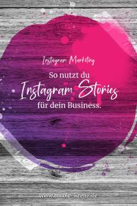 Instagram Stories für dein Business